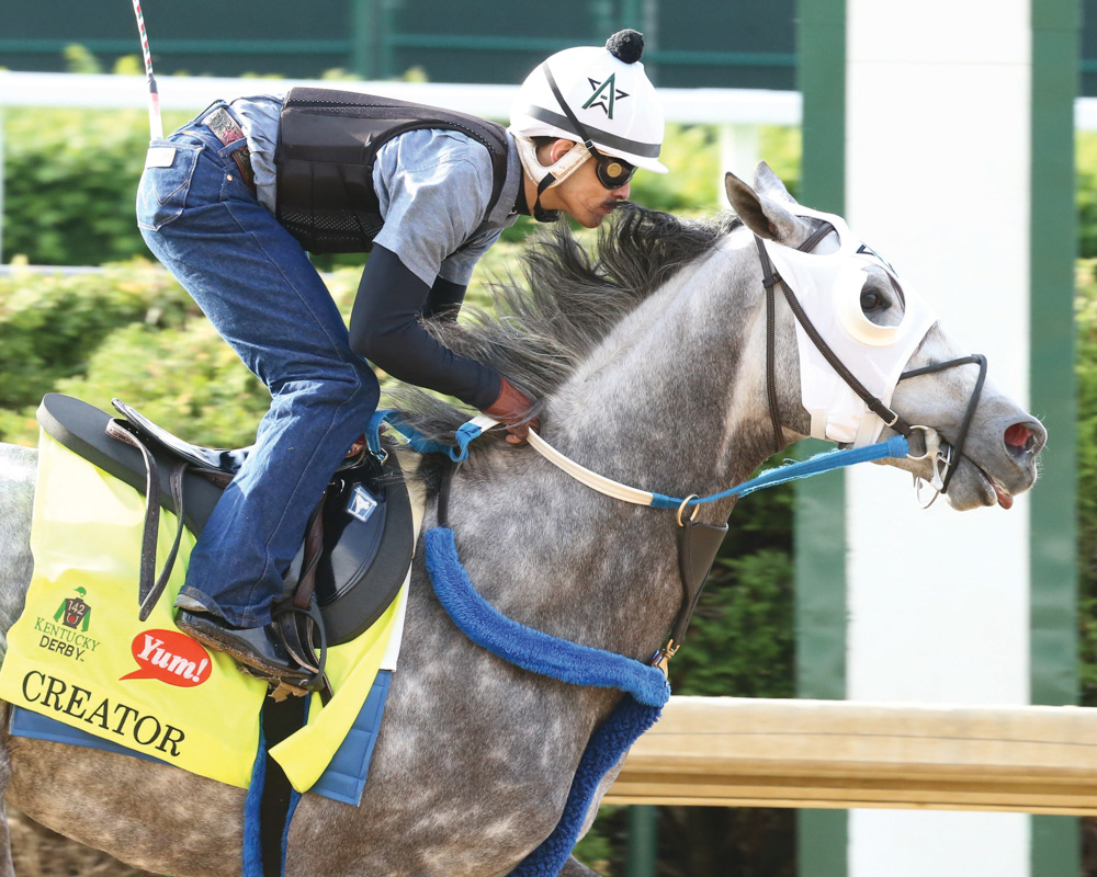 Gun Runner, Creator Complete Derby Preparations
