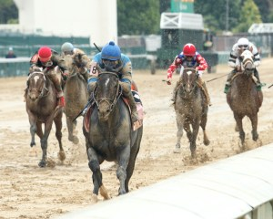 Not This Time winning the Iroquois Stakes (gr. III) at Churchill Downs - Coady Photography
