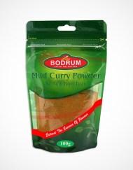 Bodrum Mild Curry Powder, Az Acili Kori Tozu