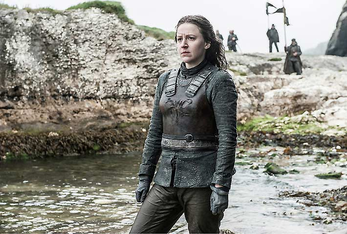 Yara Greyjoy (Gemma Whalen) Game of Thrones S-6