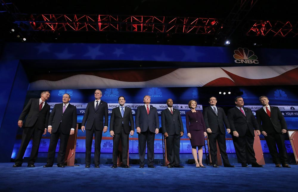 GOP Presidential Debate on CNBC