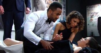 young and the restless spoilers victoria stabbed