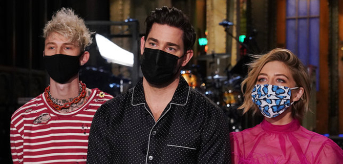 john krasinski hosts saturday night live