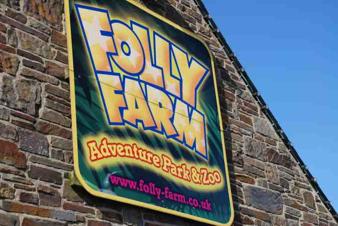 Our day out at Folly Farm adventure park and zoo