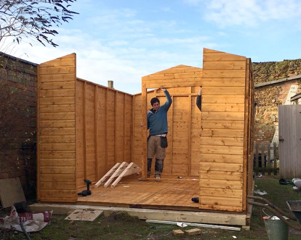 Building a she shed