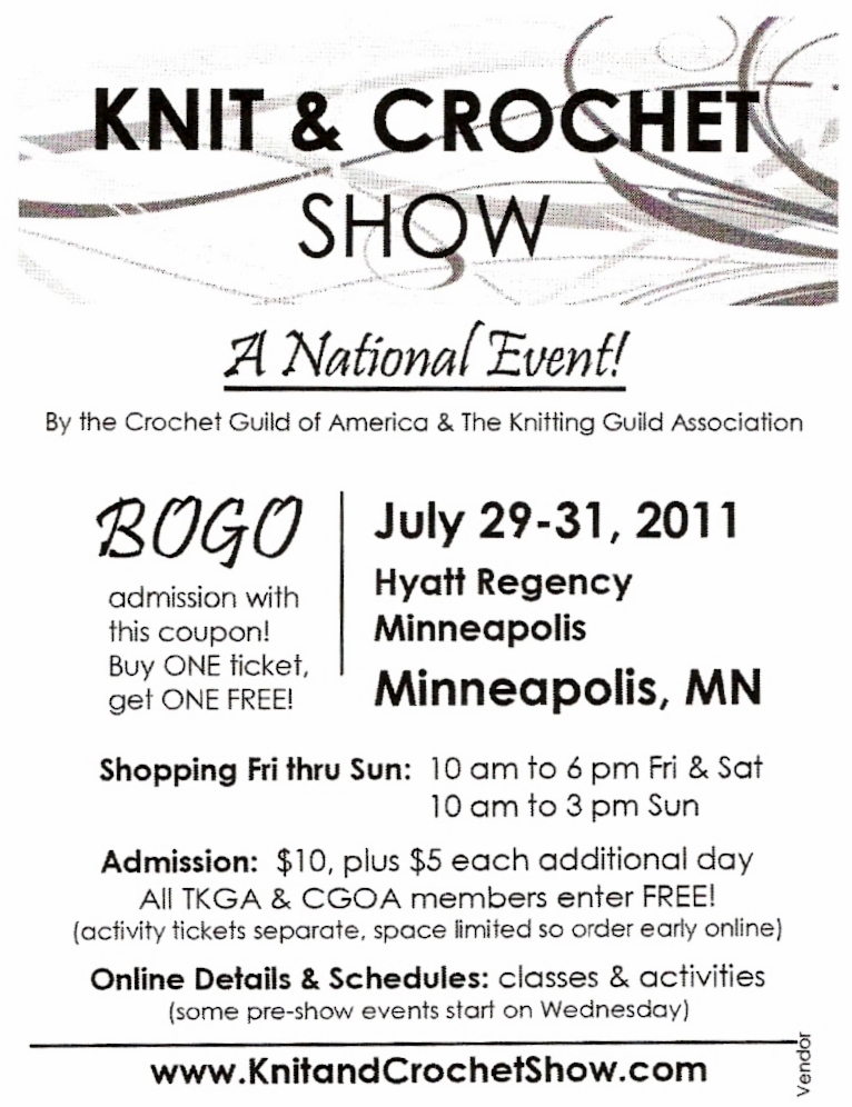 Knit Crochet Show In Minneapolis Coupon Twisted Purl