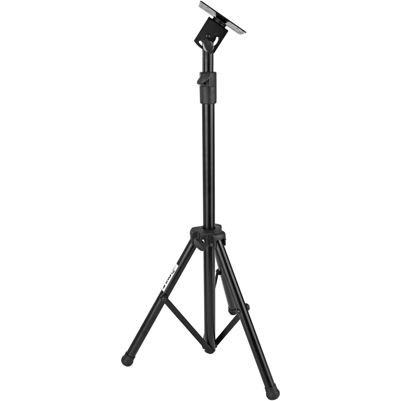 Pyle Ptvstndpt Portable Tripod Tv Stand Up To