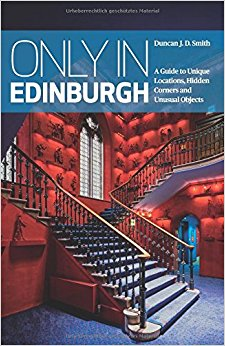 Picture of book cover on Edinburgh