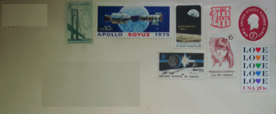 Envelope from the Moon The Type Bar