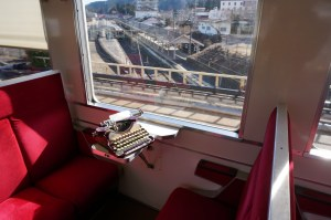 Type Bar Coronoa on Train