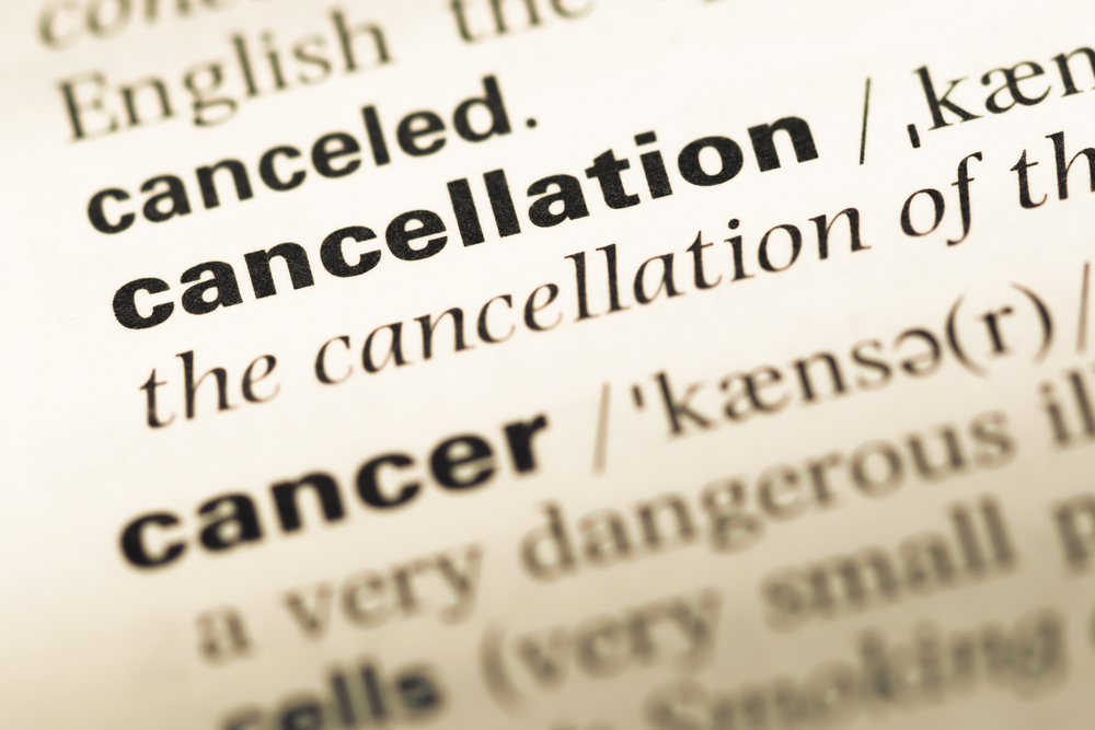Charging Cancellation Fees? Never A Good Idea….