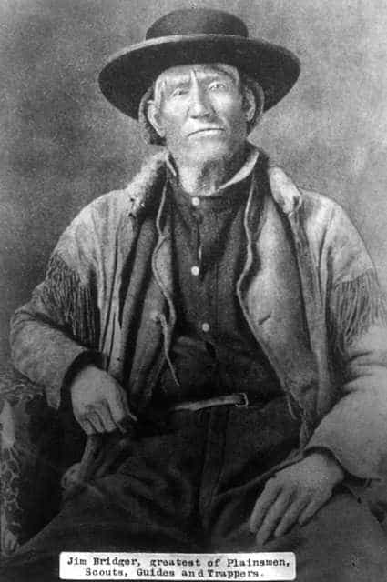 Jim Bridger, the Greatest Plainsman