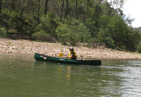 Canoeing the Macalister