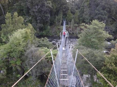 Wairaurahiri River walkwire & possum gate