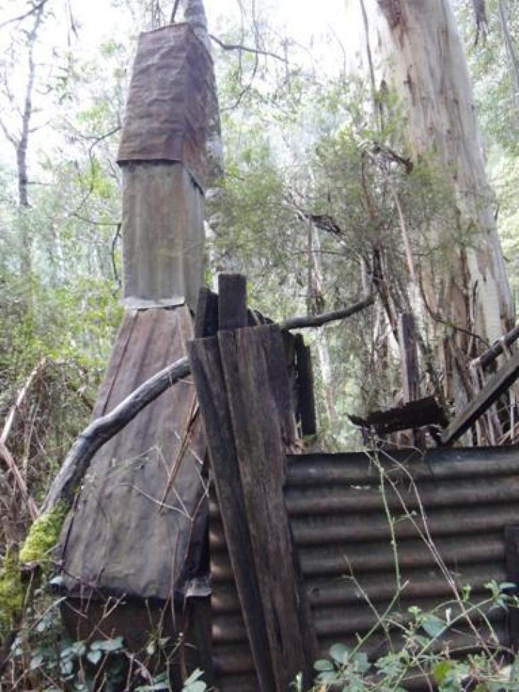 Old miner's hut