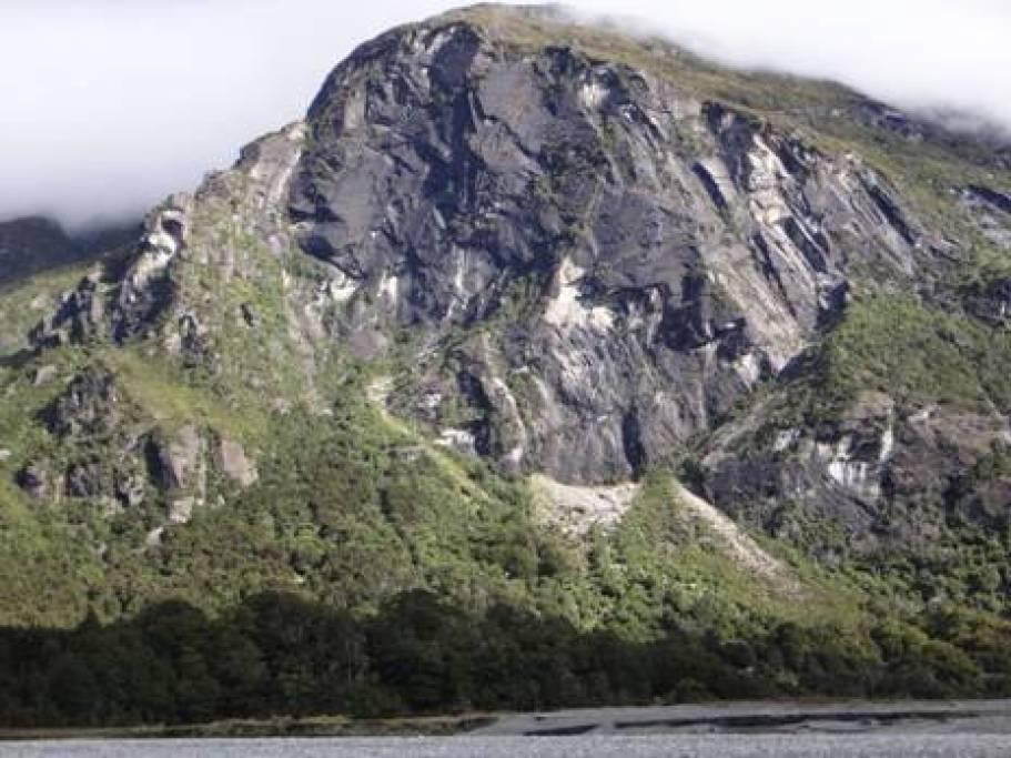 Granite formation, Wilkin River.