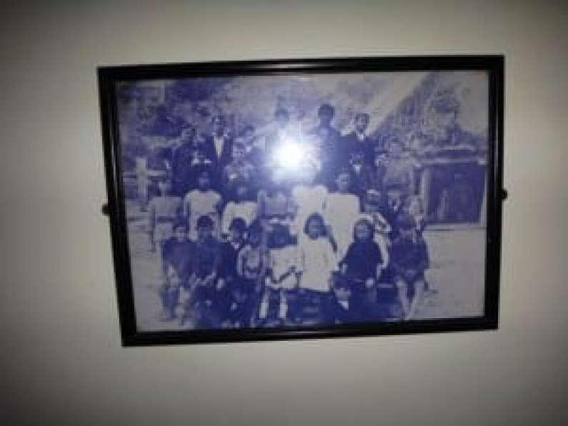 On the wall of the Port Craig Schoolhouse was a photo of the last class there (c1928).
