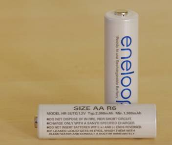 ENELOOPS: Rechargeable Batteries
