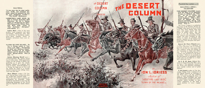 Ion Idriess: The Desert Column