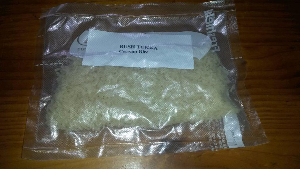 Della's Coconut Rice: (Hiking Food):