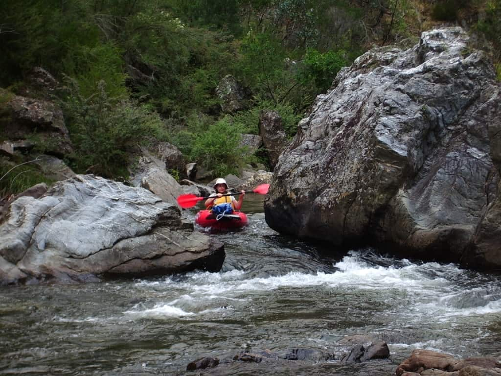 Canoeing the Thomson River, Gippsland, Victoria: