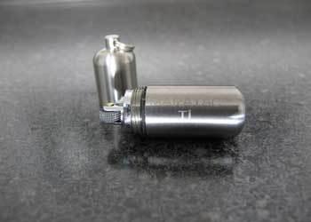 Fire Engine Rolls Over Peanut Lighter: