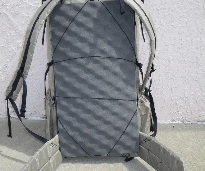 Sleeping Pad Pack Frame: