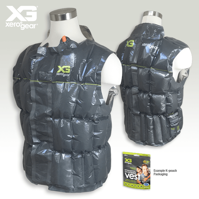 Inflatable Insulated Clothing:
