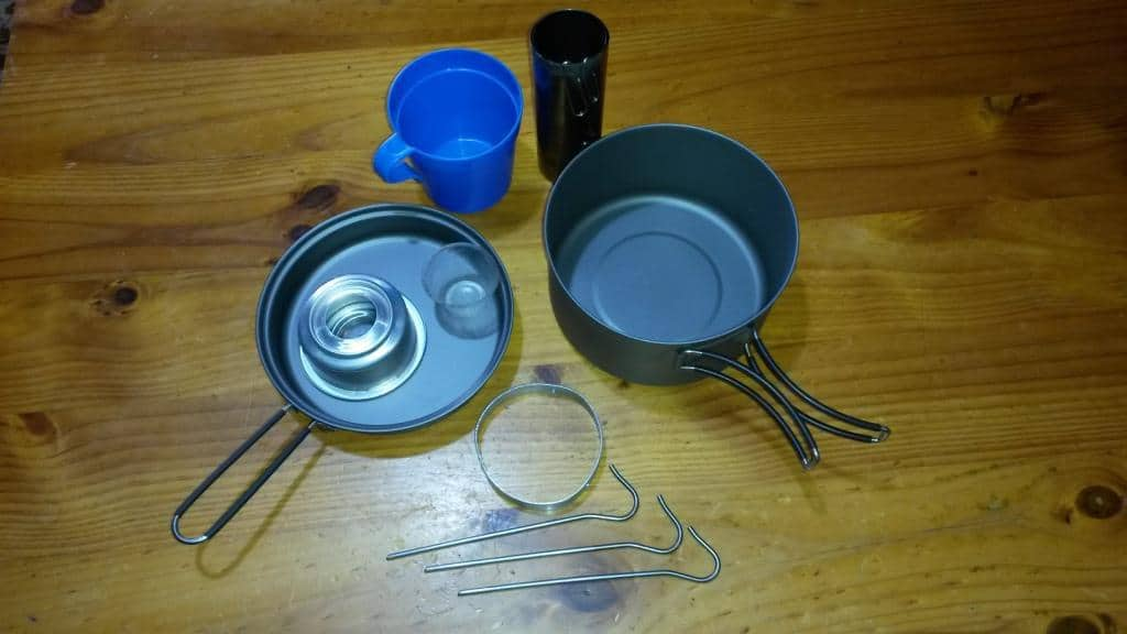 New Cookset: Toaks 1350 ml UL