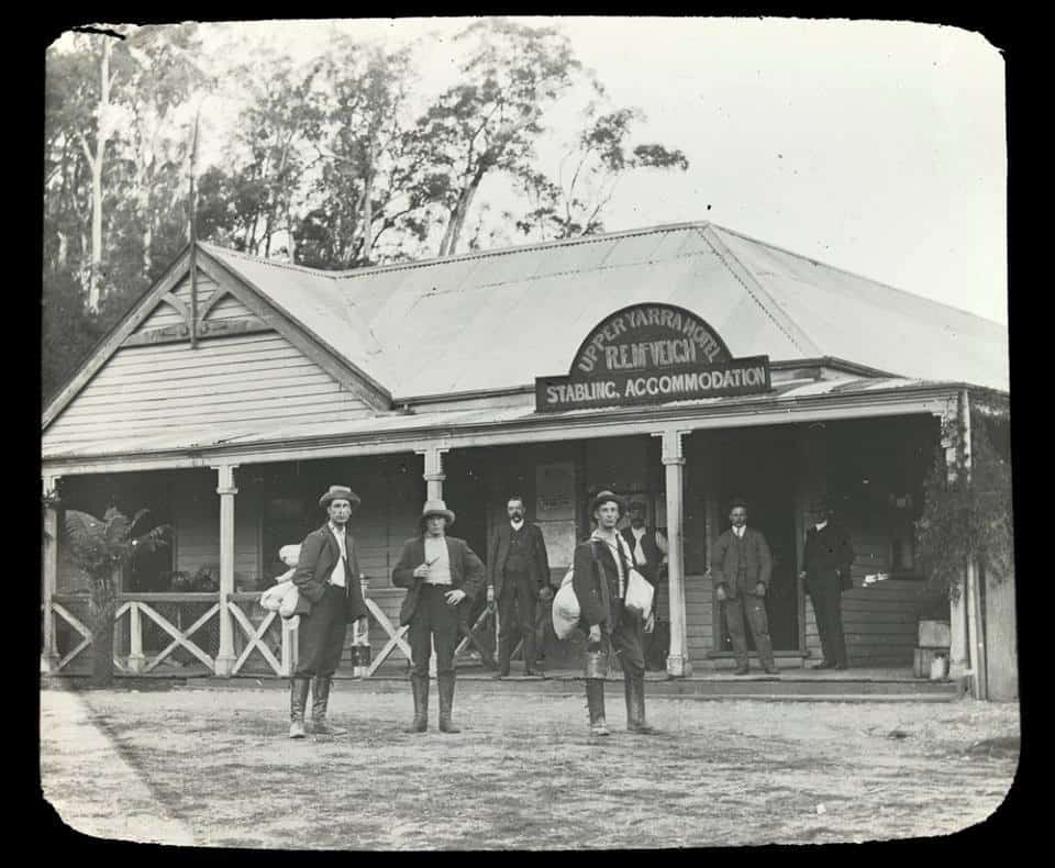 A trip to the Upper Yarra in 1907, camping near McVeigh's