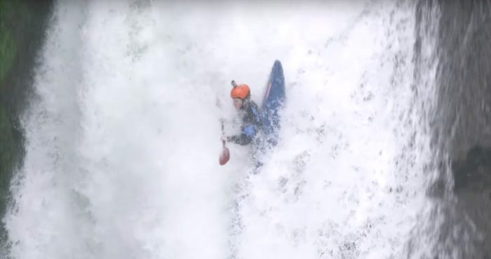 Extreme kayaking: