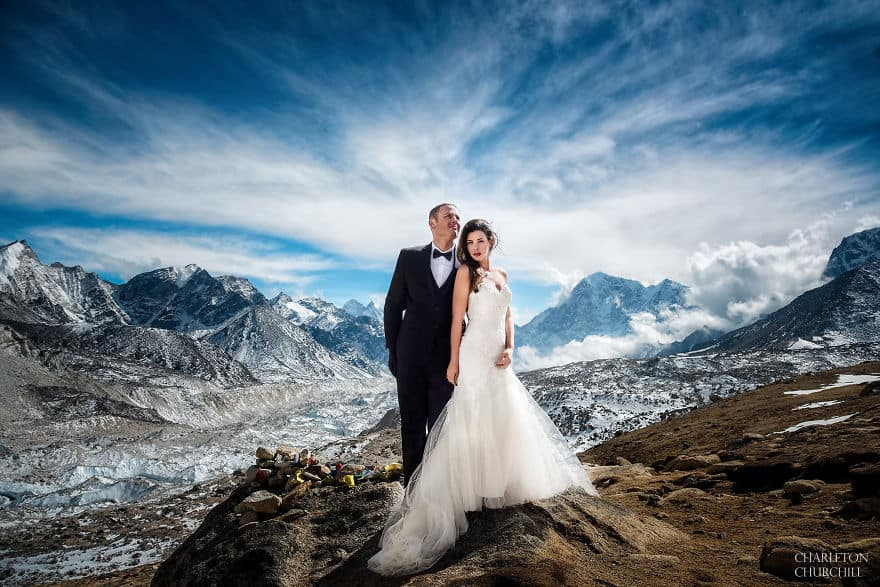 Couple Marry on Everest: