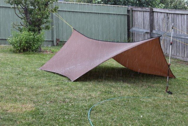 Tier Gear Catenary Cut Hex Tarp