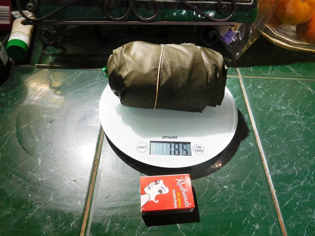 ultralight pocket poncho tarp tent