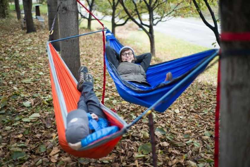 Simple Hammock Double Up