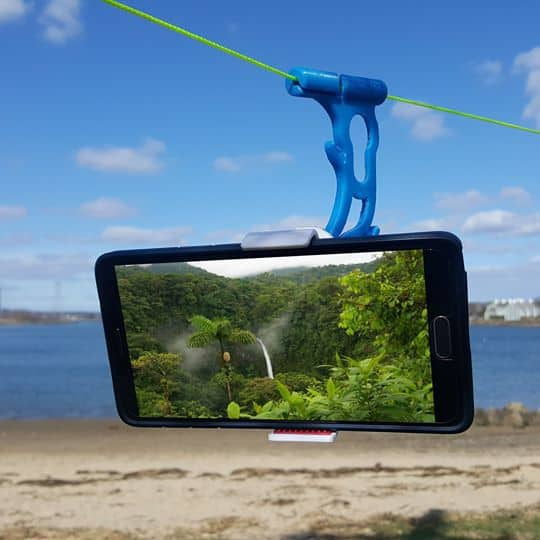 Hands Free Hammock Media Viewer: