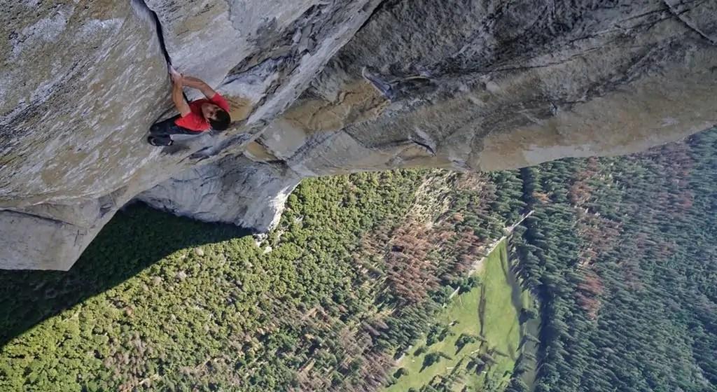 Alex Honnold Free Solo Climbing Capitan