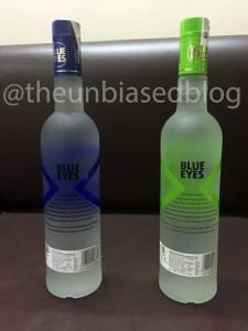 Blue Eyes Vodka flavours