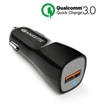 Amkette launches Qualcomm certified QC 3.0 car charger
