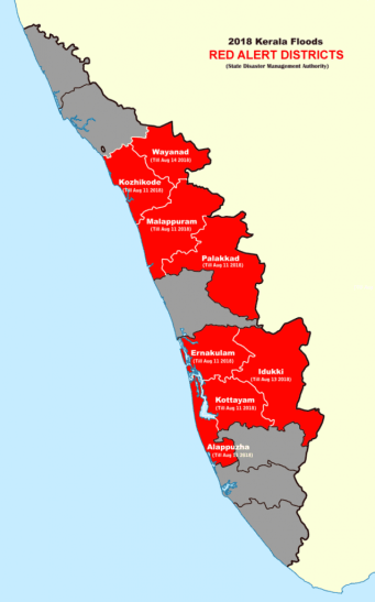 2018_Kerala_Floods_Red_Alert_Districts