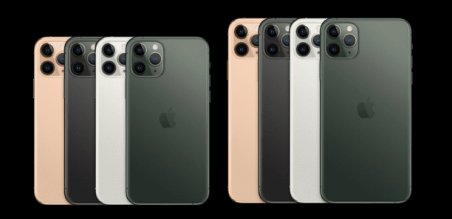 Apple iPhone 11 Pro and iPhone 11 Pro Max
