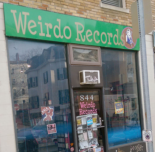 Long Live Weirdo Records. (Photo - D.Hixon)
