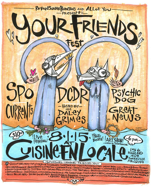 Your Friends Fest at Cuisine en Locale
