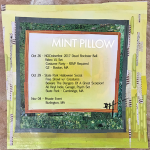Mint Pillow Schedule Late October / Early November 2017