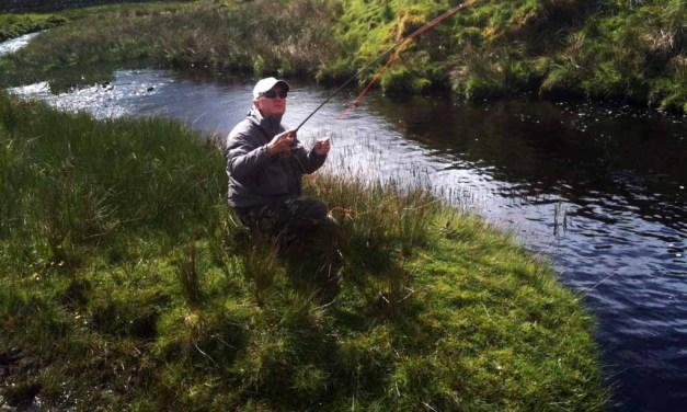 """""""Combat Fishing""""- a'la Hywel Morgan"""