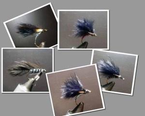 Various wet flies