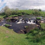 The top of Arthurs Linn Waterfalls