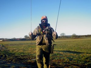 Togged up for winter fishing
