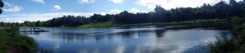 Panoramic view of the fishery