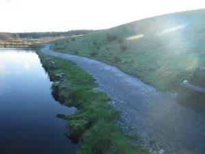 Firm grippy pathways right round Burnhouse now